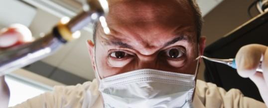 Pourquoi a-t-on peur d'aller chez le dentiste? Sans doute à cause du bruit de la fraiseuse
